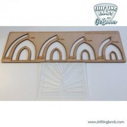 Gothic arche Template Set
