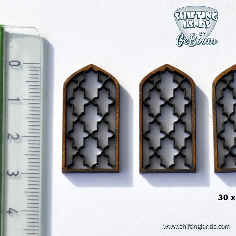 Oriental Window Gothic top Long