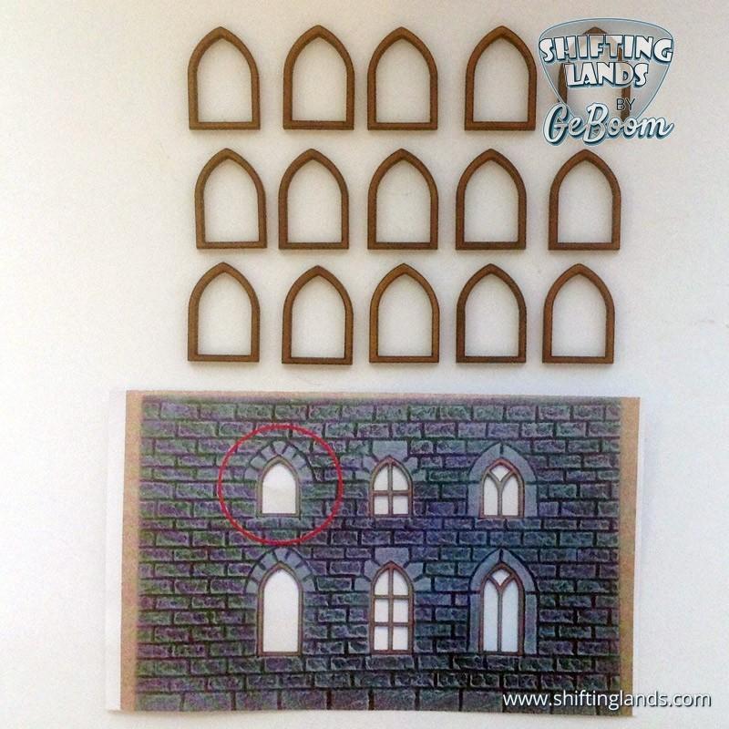 "Small Gothic Window ""Basic"""