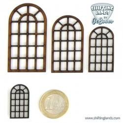Round top window with 22 windowpanes