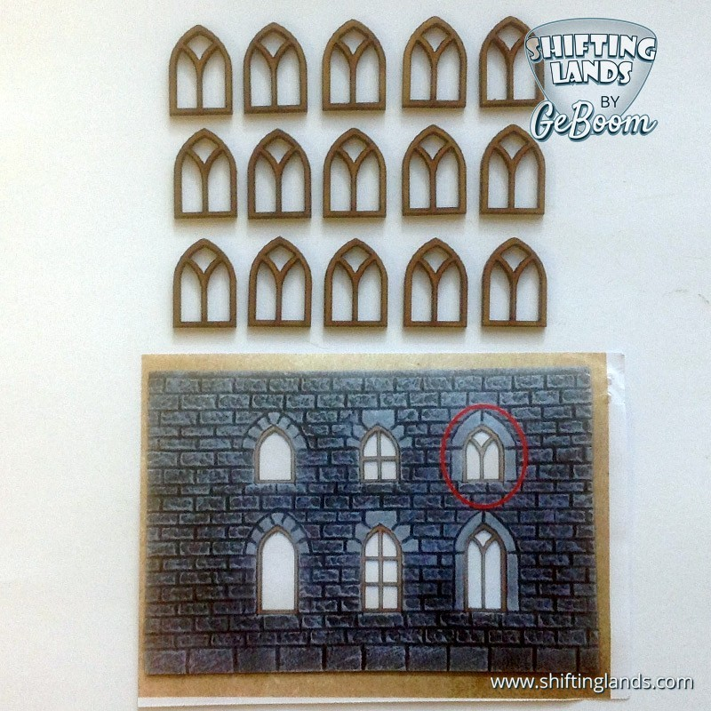 "Small Gothic Window ""Traditional"""