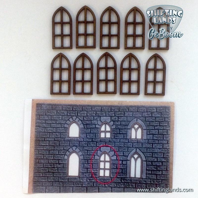 """Medium Gothic Window """"Basic"""""""