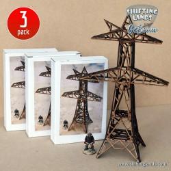 Power Line Mast