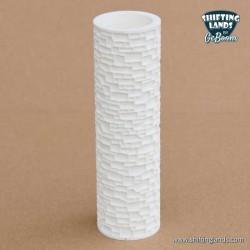 Small irregular stones cylinder