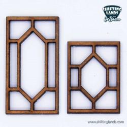 Honneycomb window