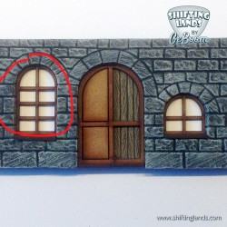 Classic Window Round top Small
