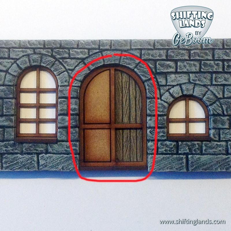 Classic Door Round top