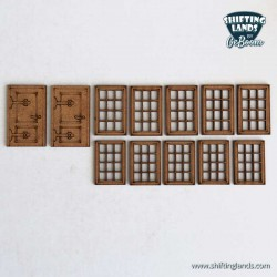 Half-timbered house basic set