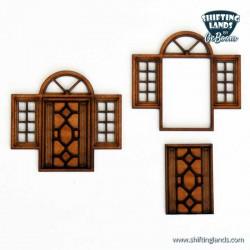 Venetian Door with side...