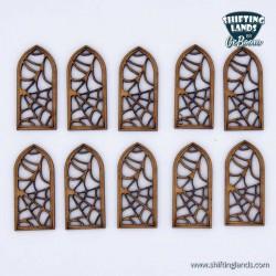 Spiderweb Windows Gothic Small
