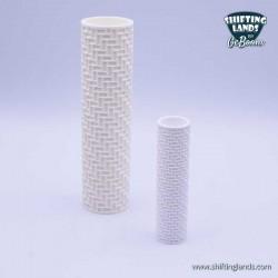 Fishbone bricks cylinder