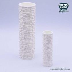Irregular stones cylinder